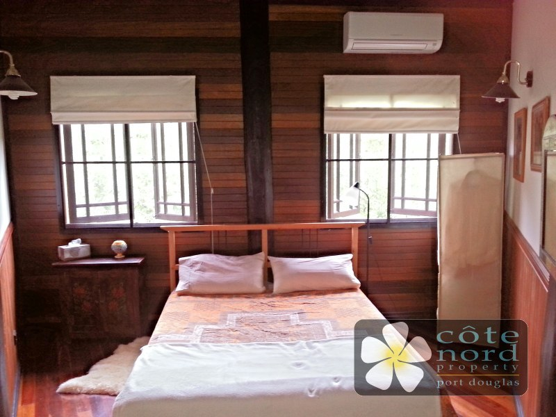 Airconditioned second bedroom