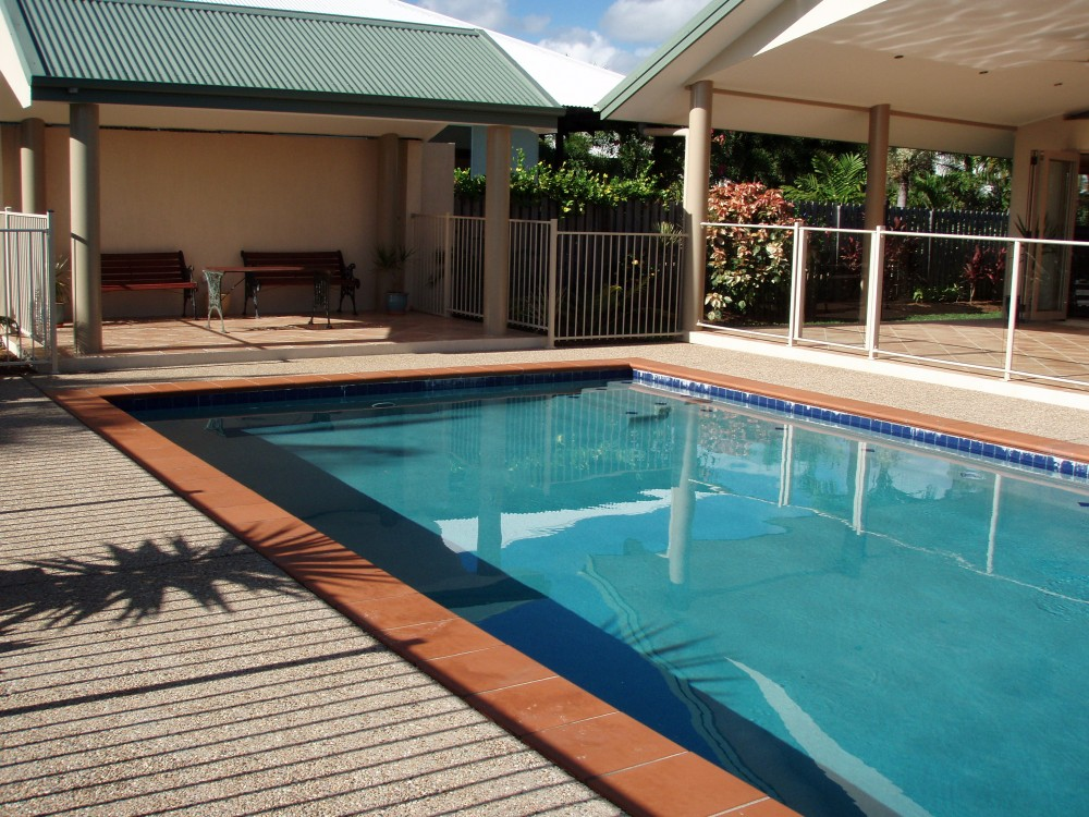 Swimming pool - a must for life in the tropics