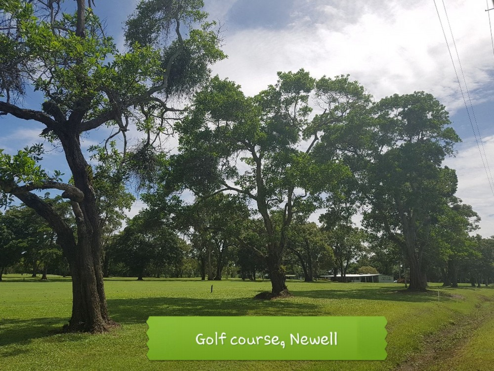 Close to the public golf course at Newell