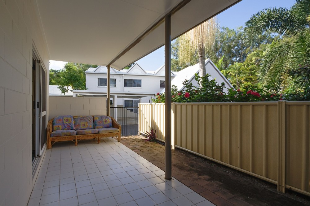 Wide terrace for entertaining and relaxing