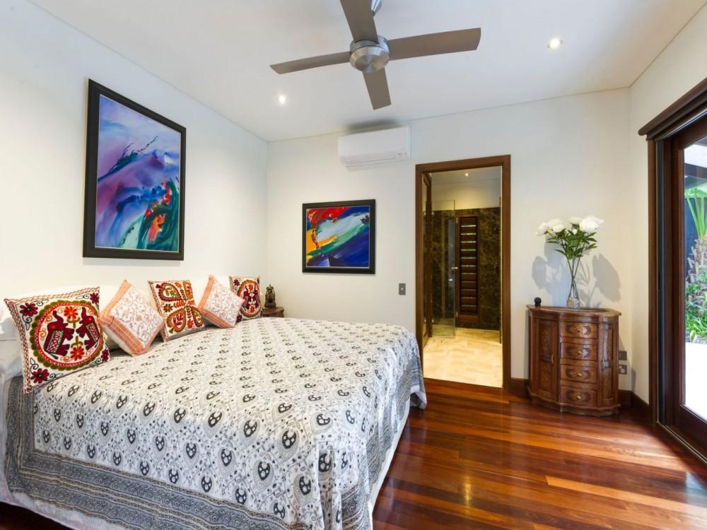 Second bedroom with ensuite and Jarrah hardwood fl