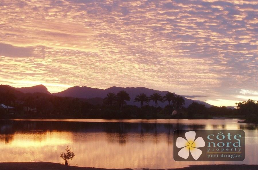 Sunset views from prestige Port Douglas home