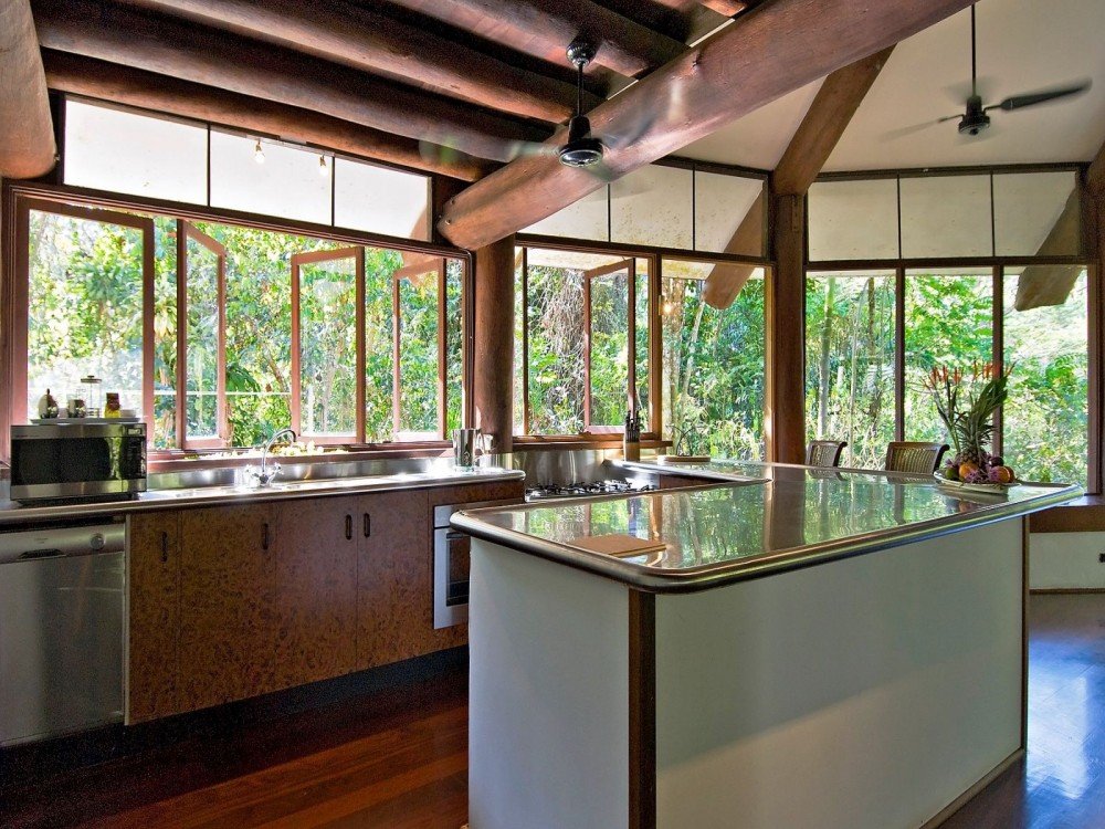 Kitchen in the tropics