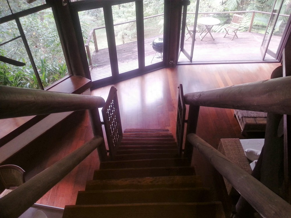 Magnificent staircase is a feature