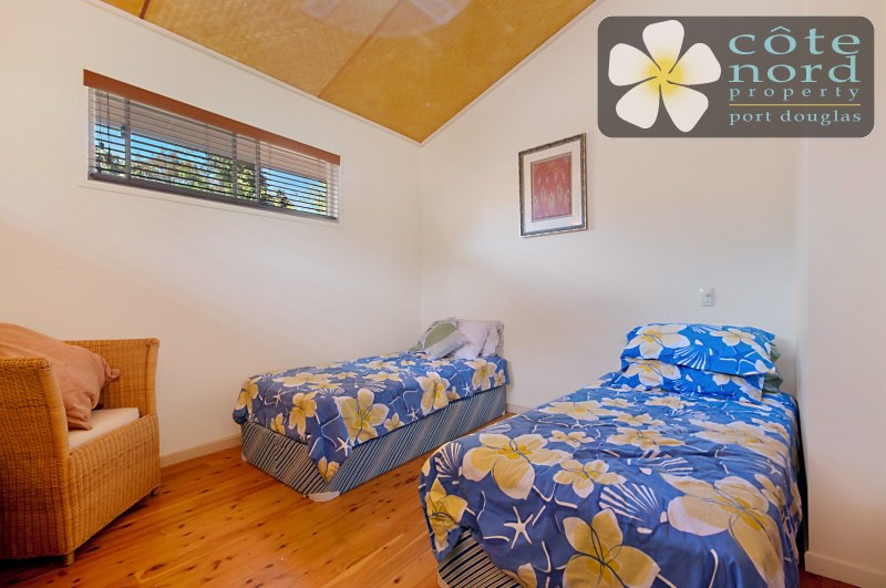 Third bedroom, airconditioned, polished timber flo