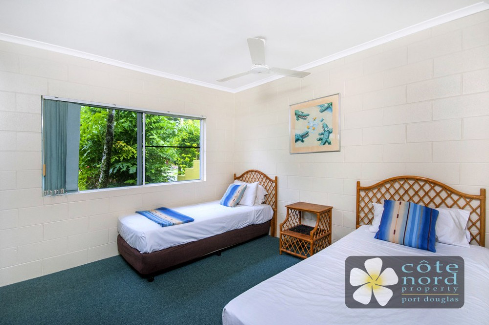 Second bedroom, Port Douglas unit for sale