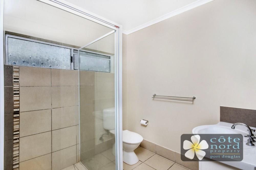 New bathroom, Port Douglas unit for sale