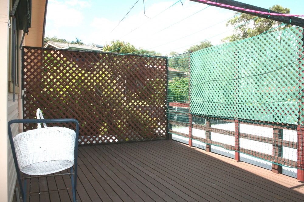 Entertainment Area of Deck