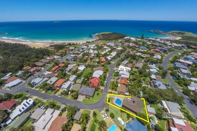 Property in Emerald Beach - Sold for $797,000